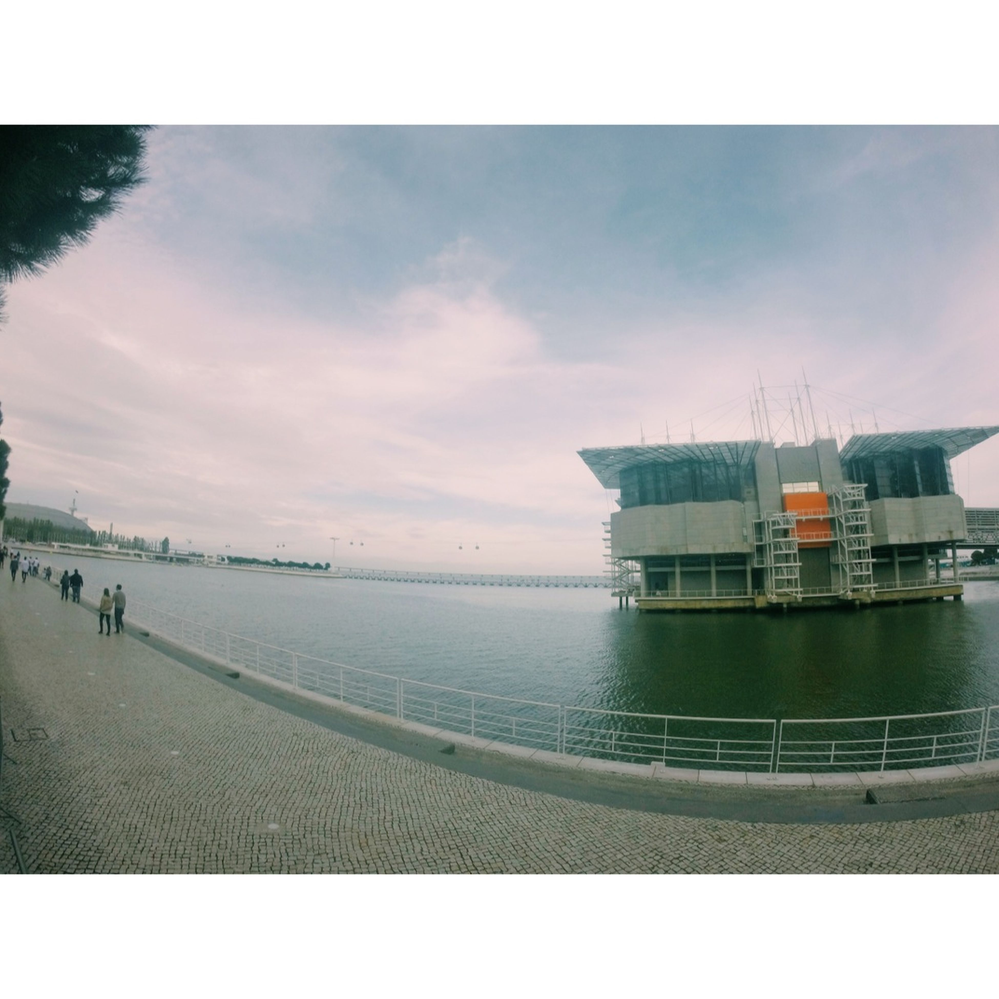 Lisbon Portugal Fish Expo Nice View Landscape Adoroatejinha Gopro River