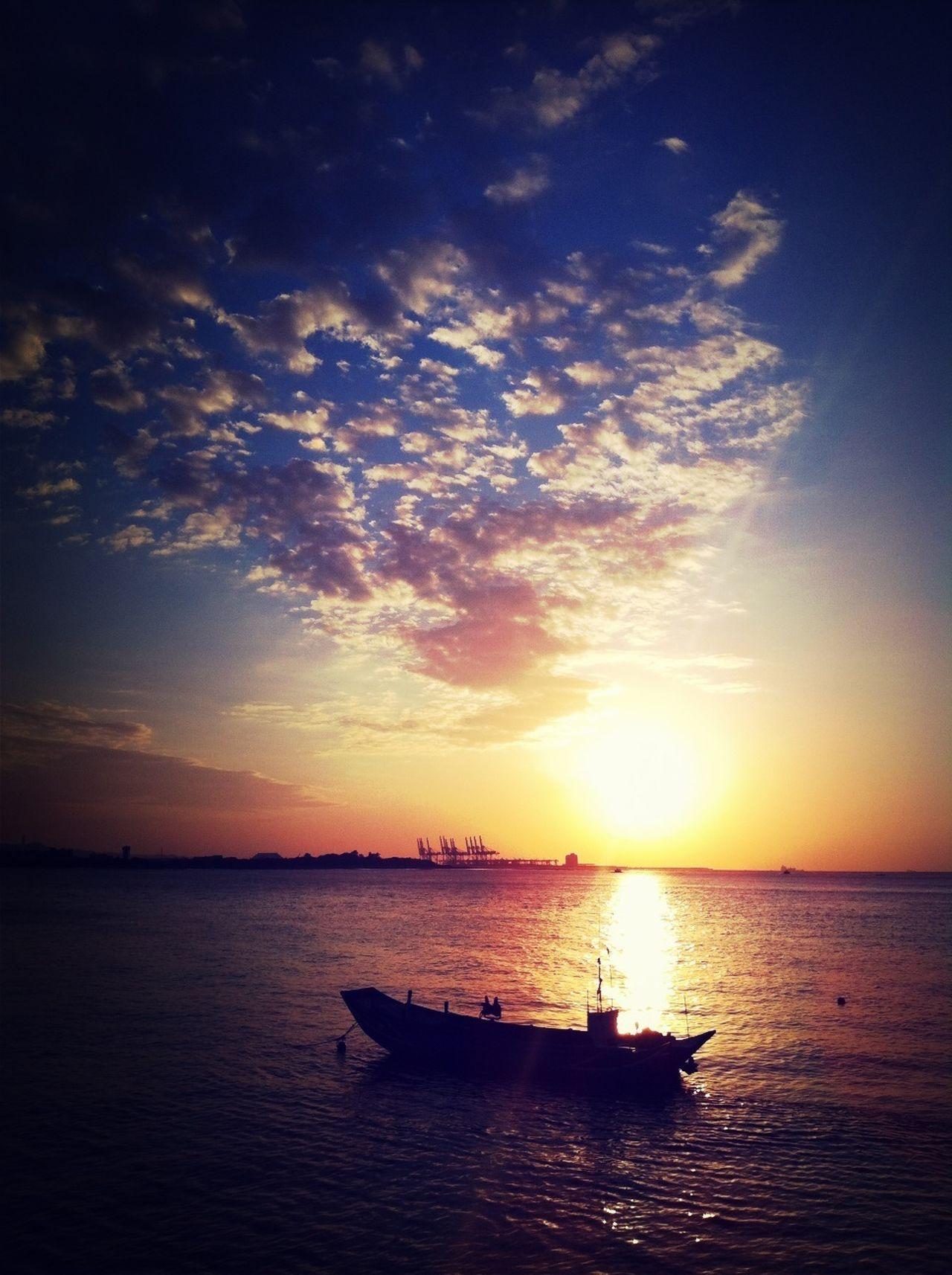 Sunset Bye Bye Riverside Divelandscape