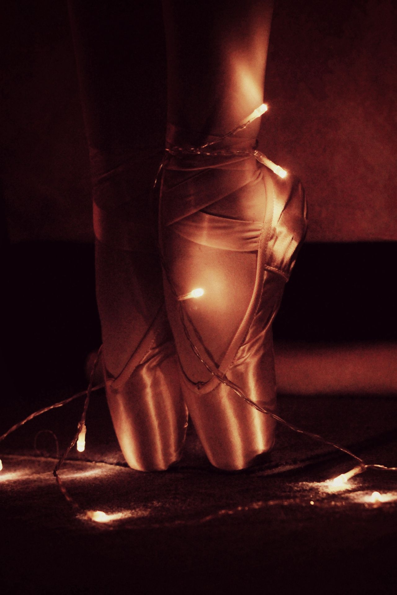 Ballett Ballerina Christmas Lights Love PointeShoes  Christmas Around The World Germany