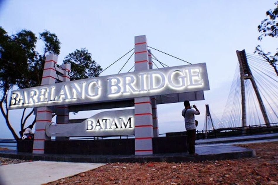 Barelang Bridge In Batam Island Batam-Indonesia