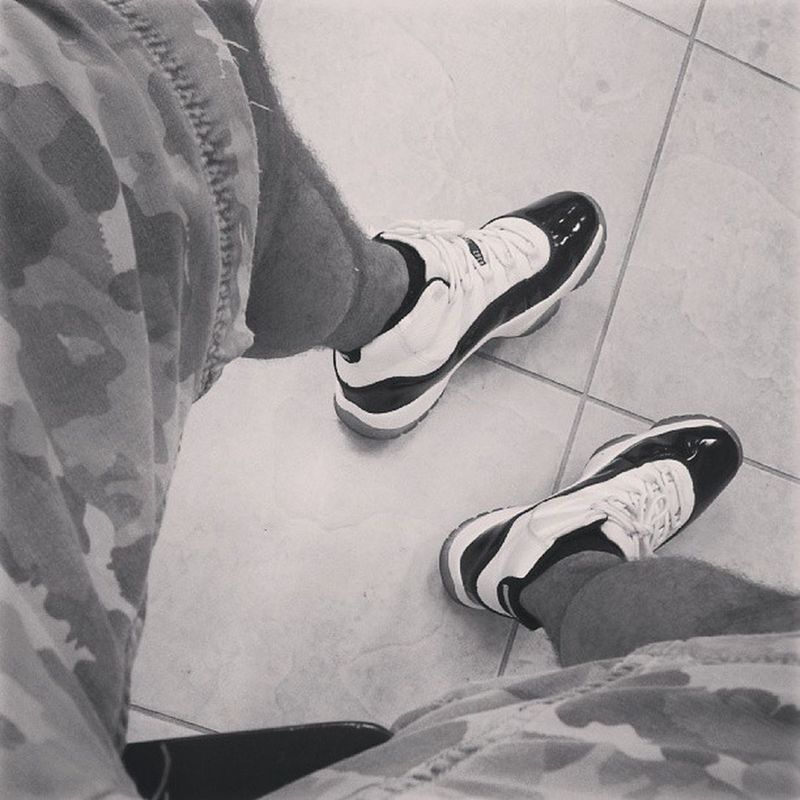 Shorts and Jordan work day. Jumpman everyday! Concords FCM all day everyday.