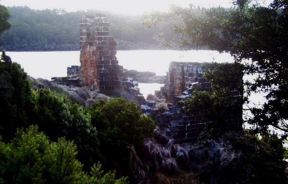 Island Prison Tasmanian Prison Old Prison Tasmania BOB Brick Old Building
