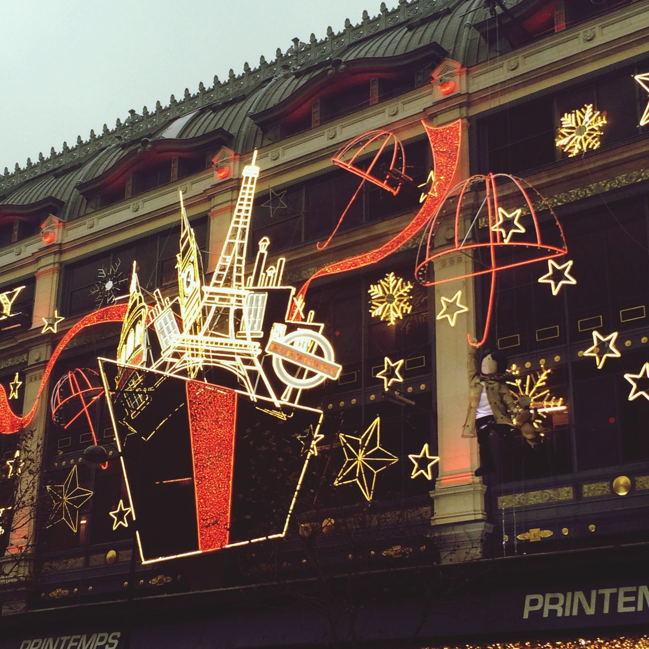 Christmas Lights Christmas Decorations Paris Je T Aime
