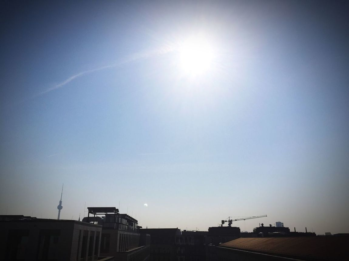 Solar Eclipse from Rooftop Solar Eclipse Berlin Rooftop Spring
