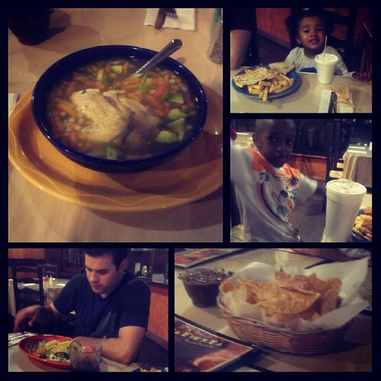 #familynight #dinner at #fajitafiesta Dinner Familynight Fajitafiesta