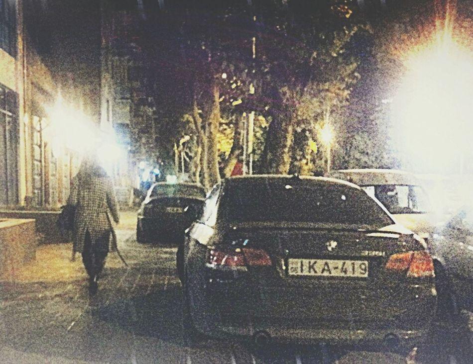Walking Around Two Same Car BMW M3 Taking Photos
