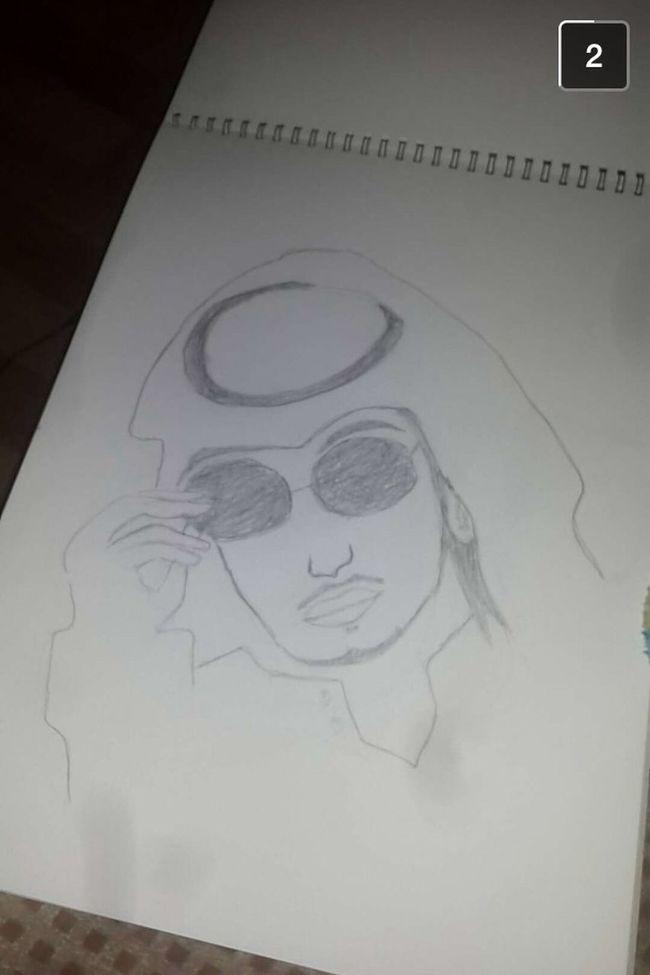 ? هذي هديه من رسام مبتدا لكنهاا اجبتني ?❤️.. كل عااام وانتم بخير رسام فن بريدة عيد_مبارك