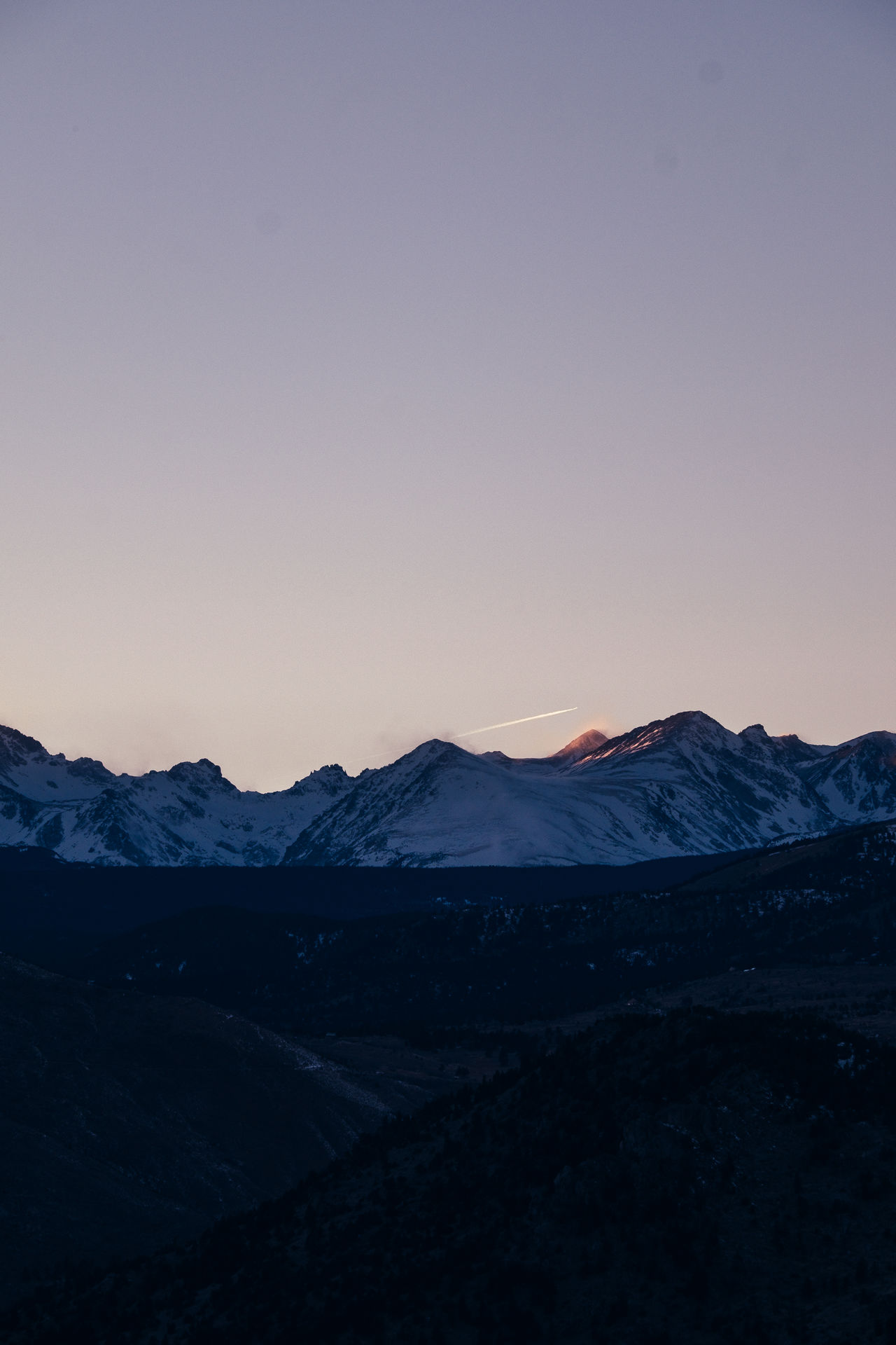 Rockies Sunset Mountain Scenics Landscape Beauty In Nature Nature Tranquil Scene Tranquility No People Sky Outdoors Day Colorado Adventure Travel Tourism Miles Away