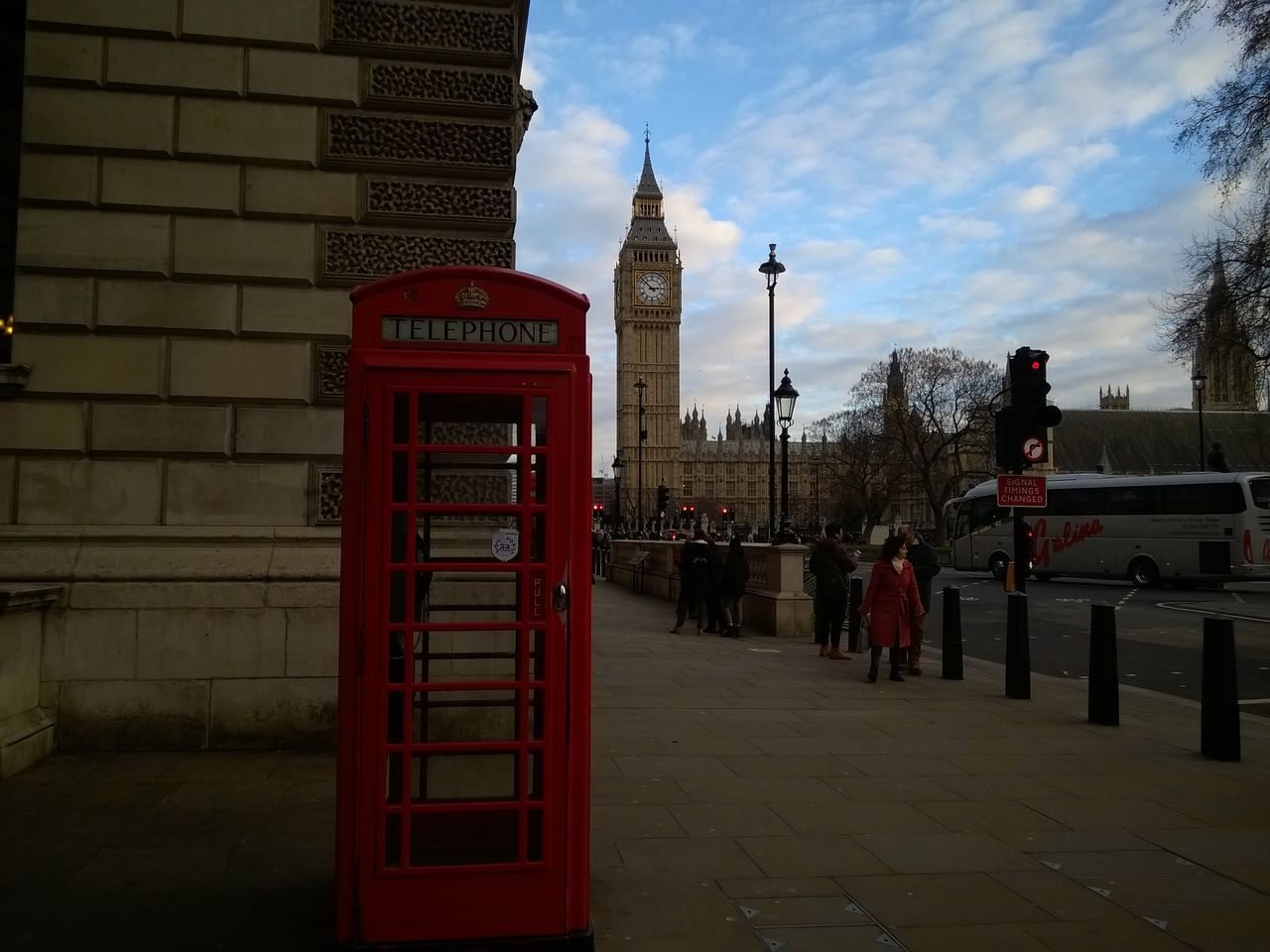 Architecture Big Ben Built Structure City Day London Outdoors Pay Phone Red Sky Telephone Booth