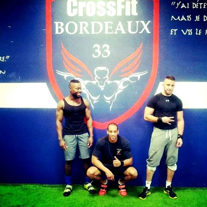 Crossfit bordeaux with my friends...npng Fitness Training Crossfit Musculation  Bogoss French