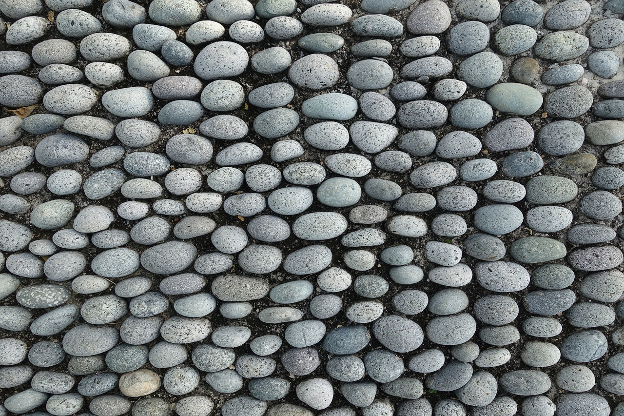 reflexology Alternative Medicine Arrangement Backgrounds Close-up Day Full Frame Large Group Of Objects No People Outdoors Pebble Pretty Reflexology Shape Stone Textured  Top