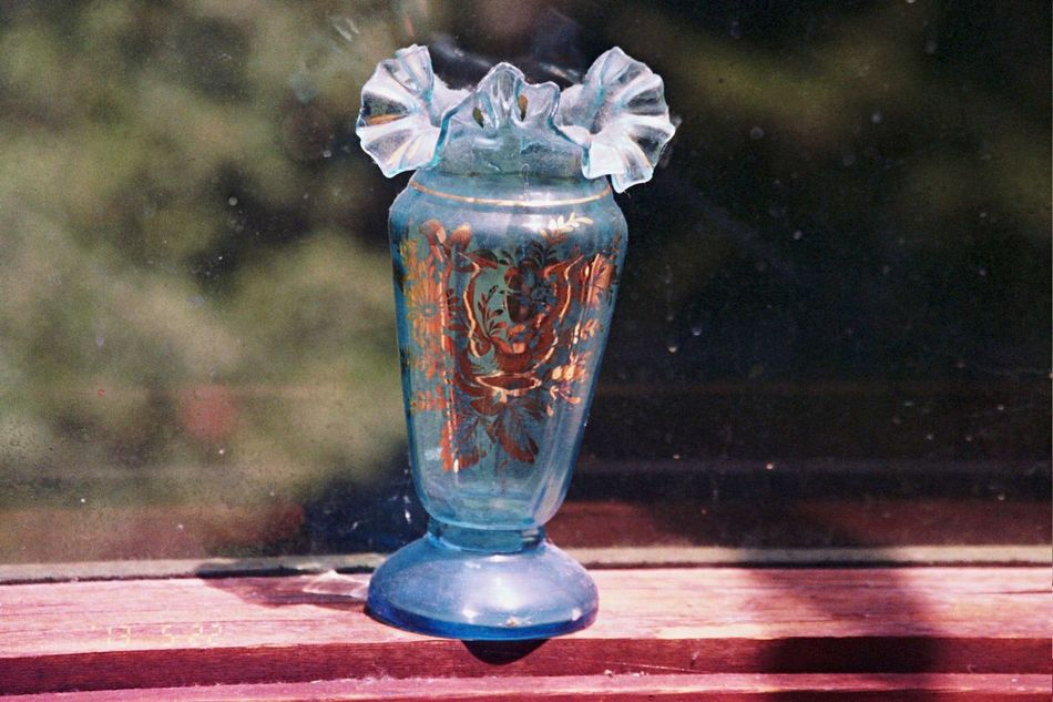 Carmel Highlands 2013 Date Stamp Bokehlicious Film Koduckgirl Olympus Vase Window
