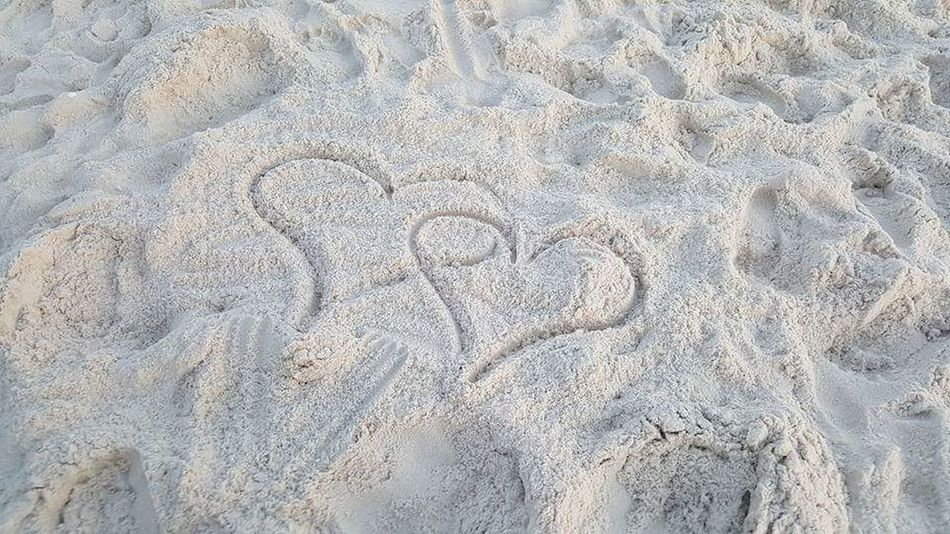 Two hearts into one Two Hearts Two Hearts Became One I Love You You Are My Everything You Are My Heart In The Sand Beach Photography Beach Life Florida Life Loving Life