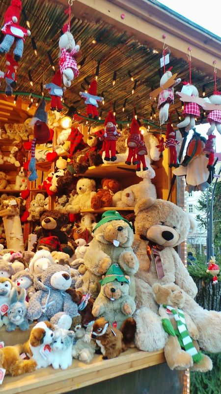 Bears Christmas Markets Puppets Showcase: December Teddy Bears The Culture Of The Holidays