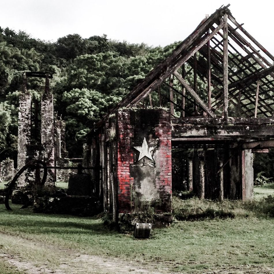Ruins Ruined Building Colorsplash Old Buildings Old Old Ruin Old House Found Object Trip Photo Taking Photos Martinique First Eyeem Photo Iphone6 IPhoneography IPhone