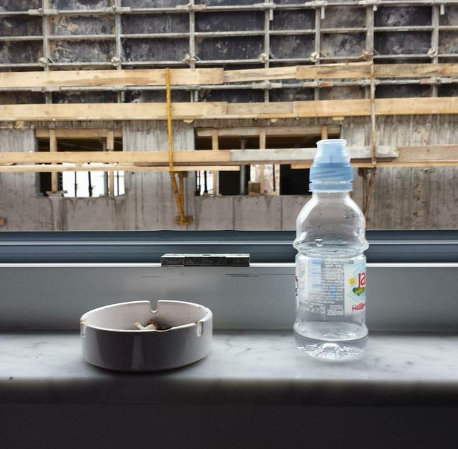 This is such a funny photo but it's hard to explain Water Architecture Ashtray