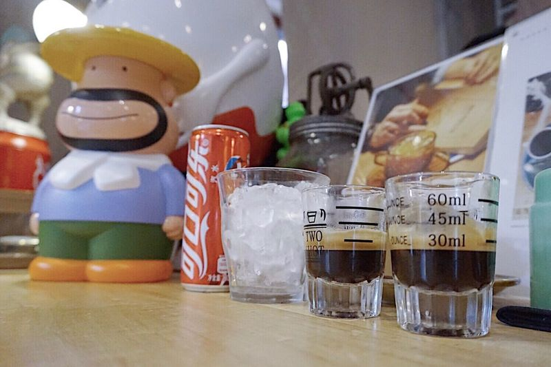 Uncle Carol Esspresso Shot Cup Cola Cafe Time Coffee Drink Coffee Lover Coffeestagram