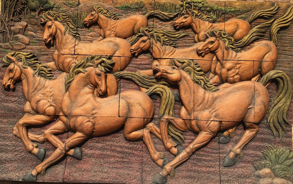 Horse Animal Themes Crafts Horse Wall Jigsaw  Mammal Spin Wall Wallpaper Wallpaper Hores