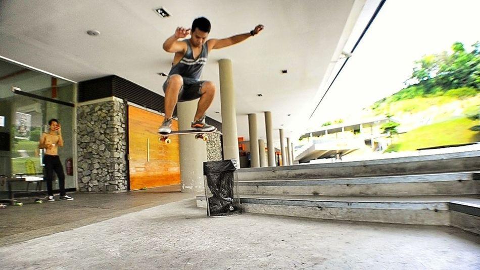 #ollie over #TrashBin at Putrajaya Challenge Park