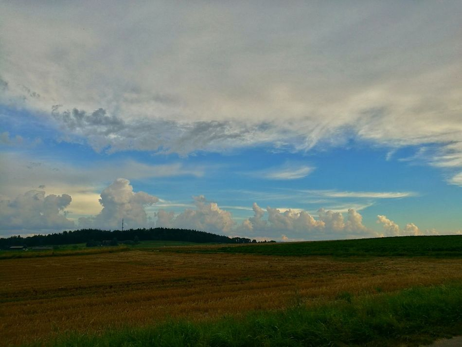 Countryside Clauds And Sky Tranquility Colour Of LifeSwitzerland