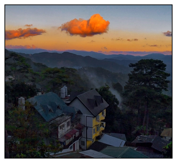Mountain Atmosphere Atmospheric Mood Baguio City, Philippines Cloud Cloud - Sky Cloudscape Cloudy Community Dramatic Sky Human Settlement Joel Yonzon Landscape Majestic Moody Sky Outdoors Residential District Scenics Sky Storm Cloud Tranquil Scene Weather