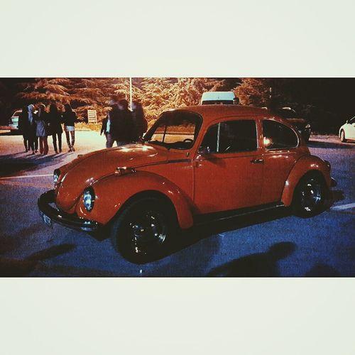 Vosvos Car Wolswagen Red Night First Eyeem Photo