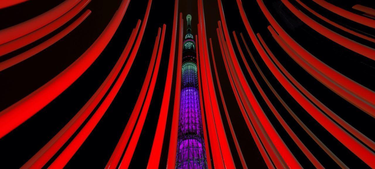 Tokyo Night Night Lights Illuminated Illumination Tokyo Sky Tree 舞 Cities At Night The Architect - 2016 EyeEm Awards Night View Found On The Roll The Photojournalist - 2016 EyeEm Awards The Street Photographer - 2016 EyeEm Awards The Great Outdoors - 2016 EyeEm Awards Fine Art Photography EyeEm X Huawei - Cities At Night