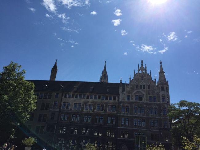 Rathaus München Marienplatz