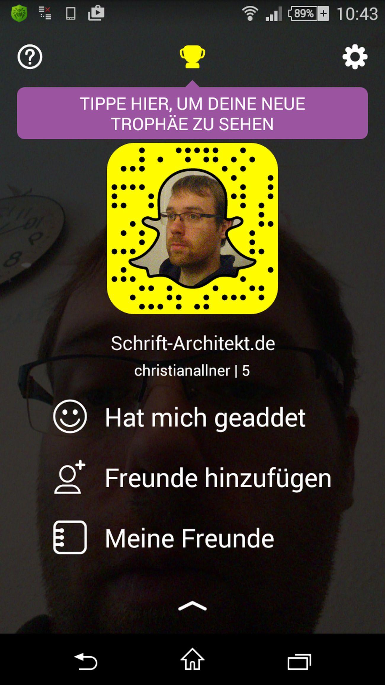 Mein Snapchat-Profil Snapchat Profile