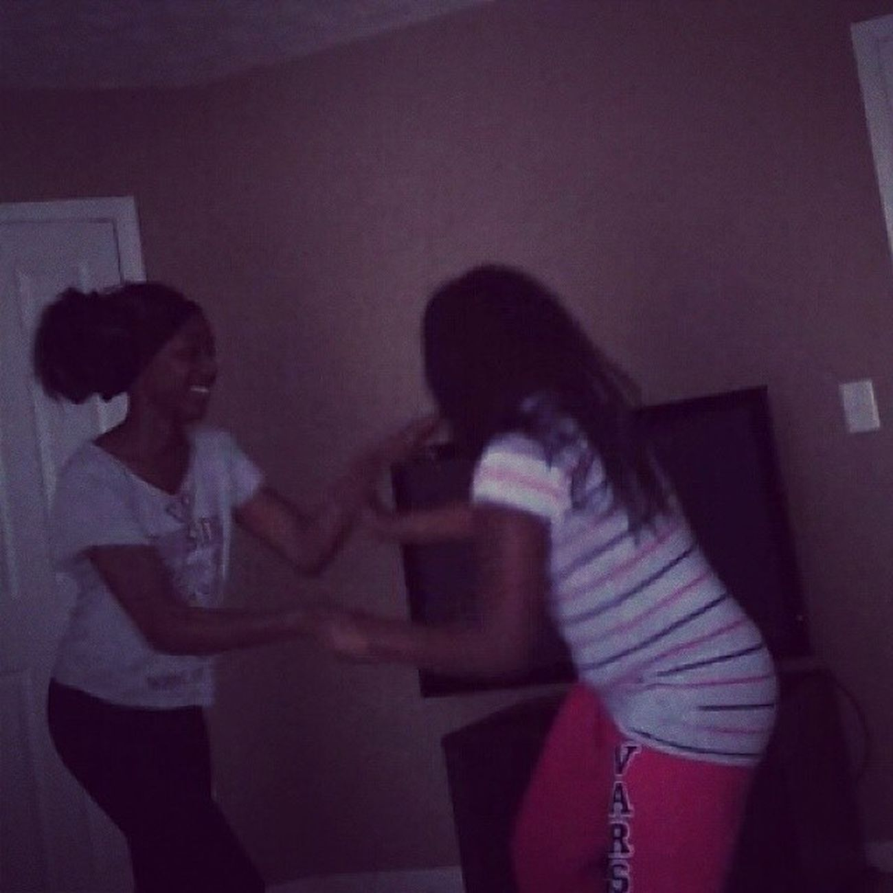 Chast and Nia Play Fighting Sos PlayFightin LOL Follow doubletap dt me