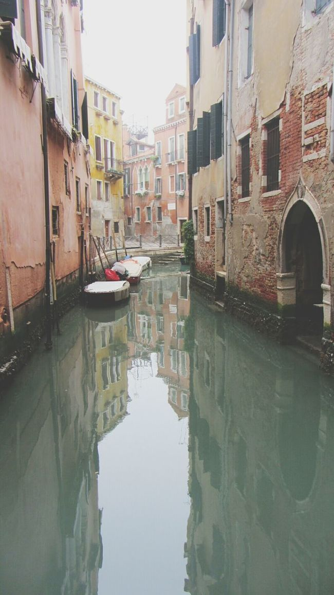 Reflexions Old Outlook Pastel Colors Architettura Water And Buildings Canals And Waterways Venezia