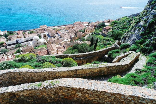 Monemvasia from the top, Greece Taking Photos Landscape_photography Landscape_Collection Colour Of Life Fresh 3 Open Edit Eye4photography  EyeEm Best Shots Summer Memories 🌄