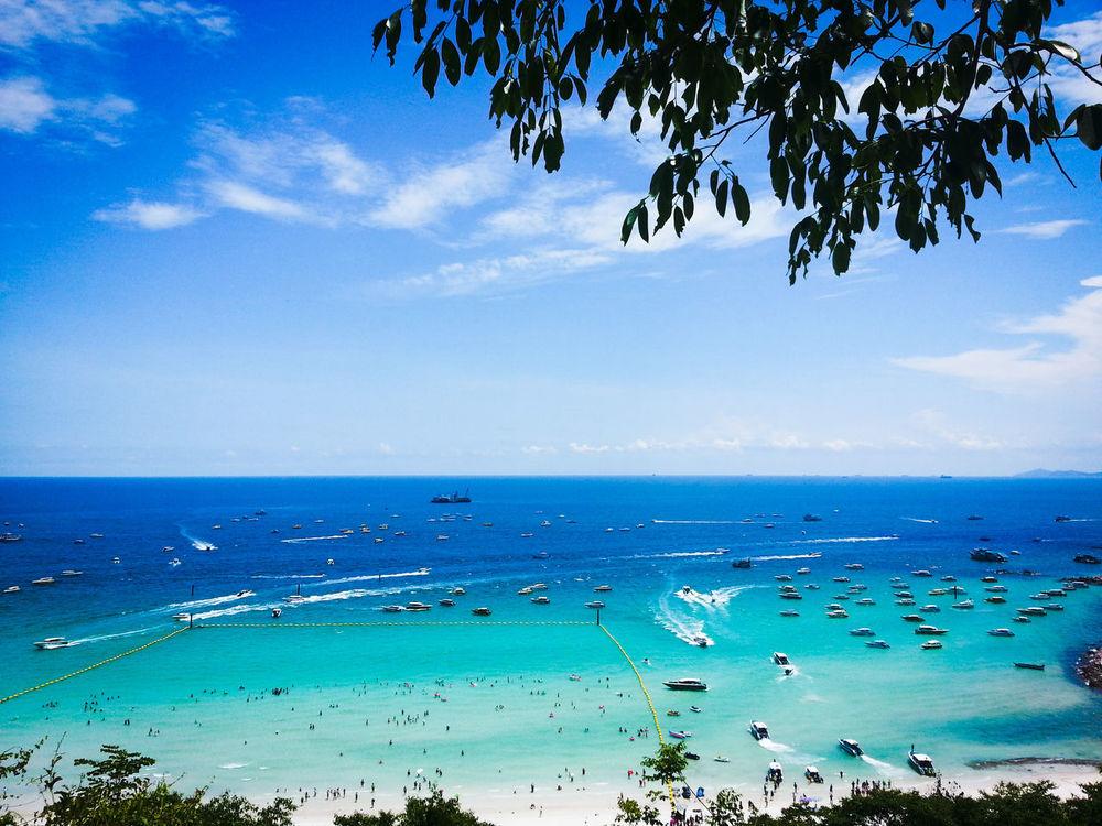 เกาะล้าน จังหวัดชลบุรี ทะเล ทะเลแสนงาม ทะเลไทยยังไงก็สวย เกาะล้าน ชลบุรี