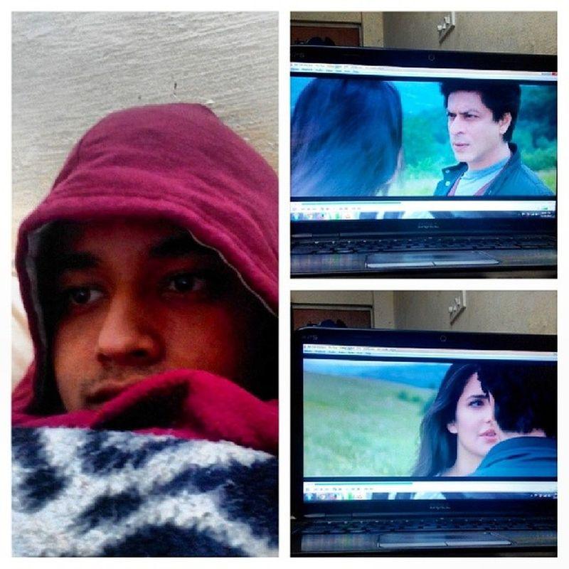 Watching Jab Tak Hai Jaan. Jabtakhaijaan Srk Shahrukh Khan Katrina  Kaif MOVIE Bollywood Like Follow India