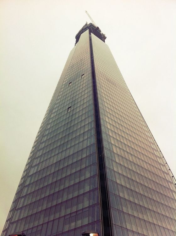 the shard in London by rus sellers