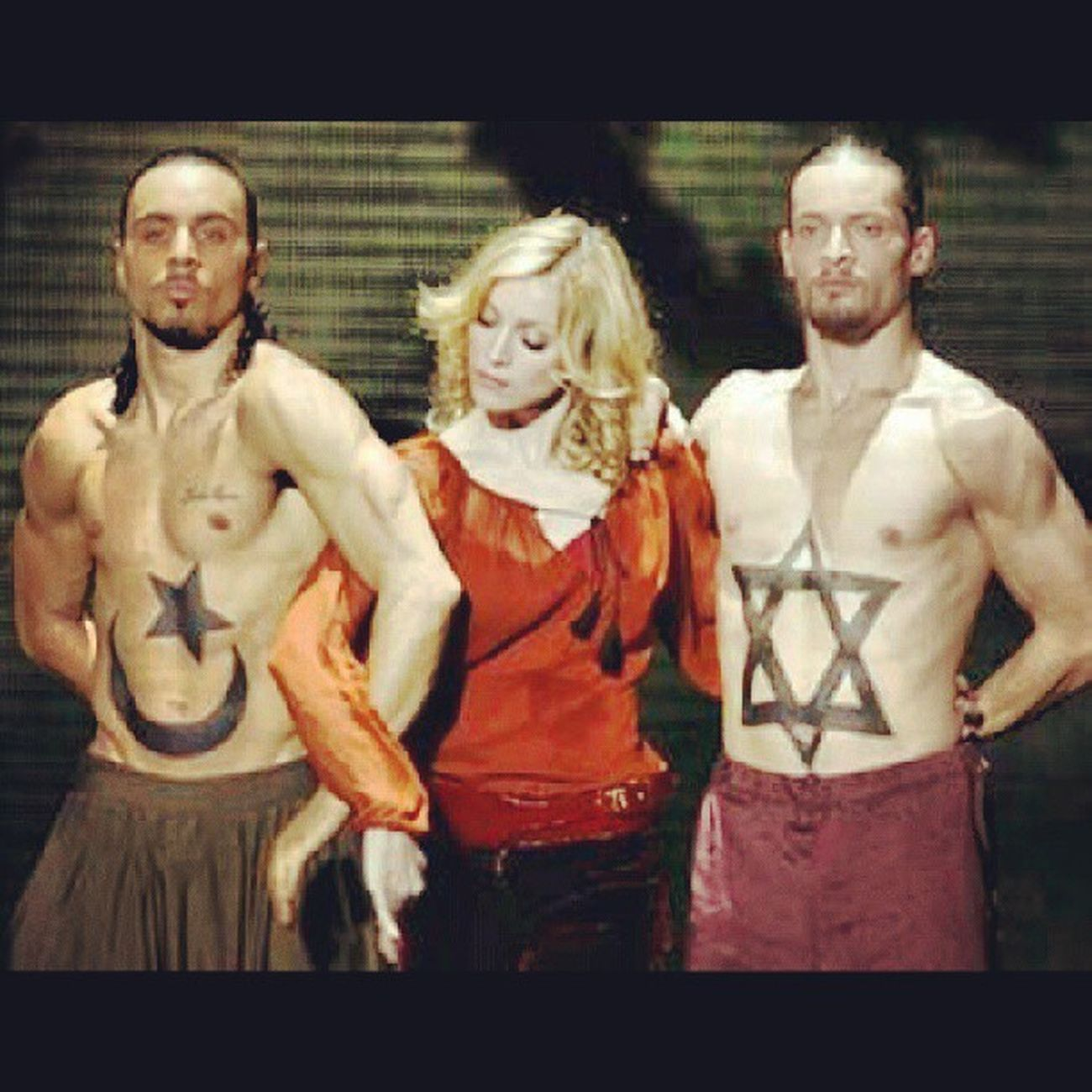 Co Exicst Forever Peace & Love in the world! Madonna Arab Muslium Israeli Jewish Shalom Salam
