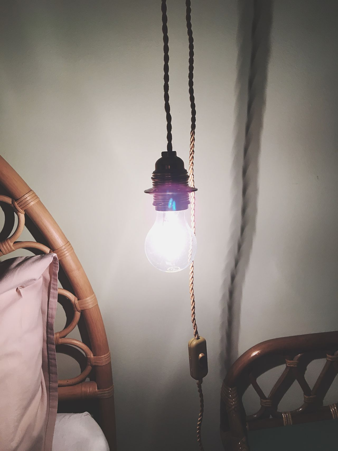 EyeEm Selects Hanging Illuminated No People Electricity  Chain Light Bulb Indoors  Close-up Sky Day