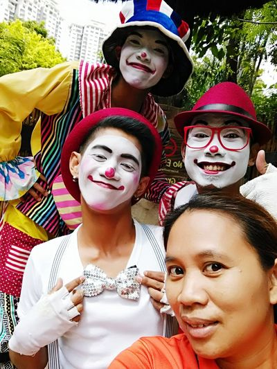 The color of life Arts Culture And Entertainment Clownface Colleaguewholikestodisturbpeople Entertainer