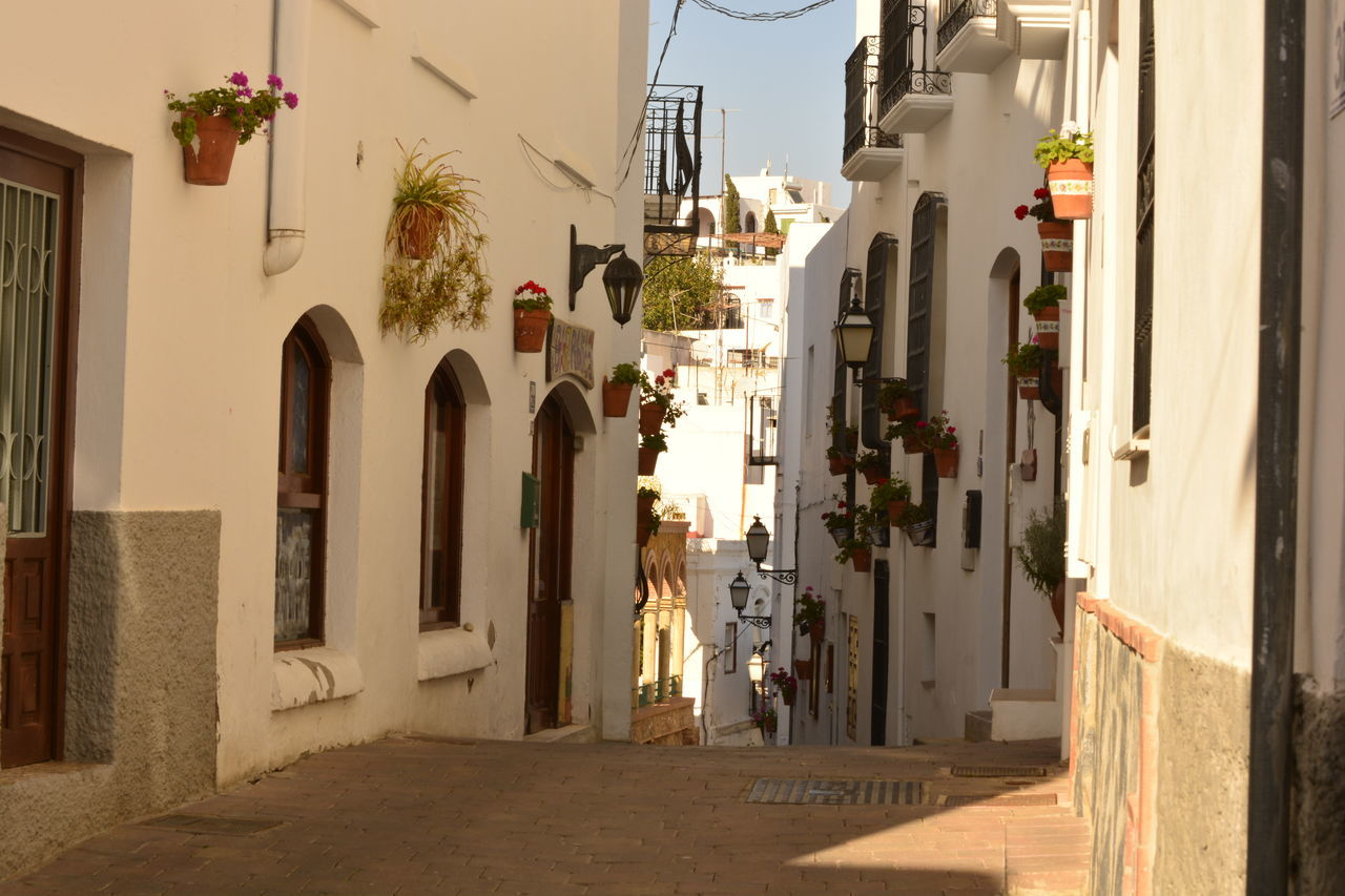 Mojacar streets Architecture Day Diminishing Perspective Laneways Mojacar No People Rural Village