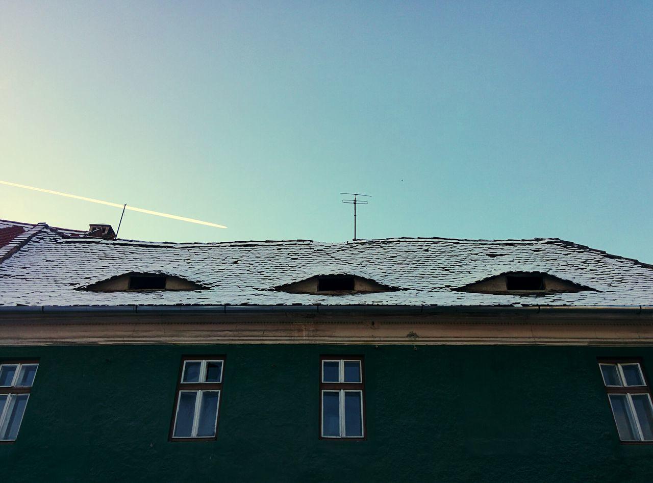 Eyes Windows Roof Sibiu, Romania