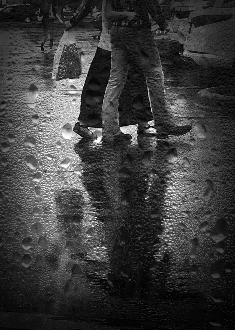 Rain lovers Shootermag_usa EyeEm Best Shots - Black + White The Street Photographer - 2014 EyeEm Awards The Storyteller - 2014 Eyeem Awards