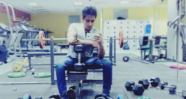 Accenture Gym LaTe Night Workout
