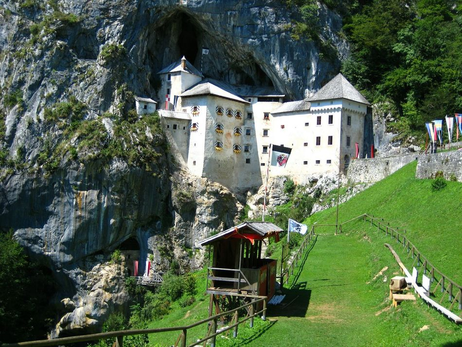 The Purist (no Edit, No Filter) Castle Predjama Slovenia Awesome Architecture