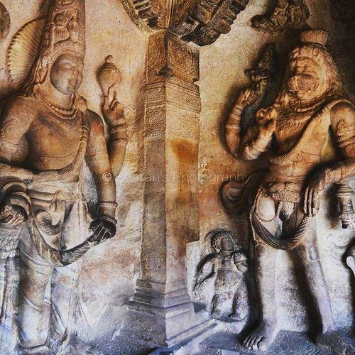 India Karnataka Badami Travel God Mystery