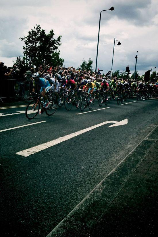 Tourdefrance Letour London Peloton Yellowjersey Sports Photography