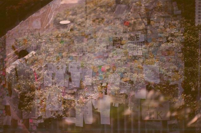 Film Double Exposure Hope From The Umbrella Revolution Umbrella Revolution