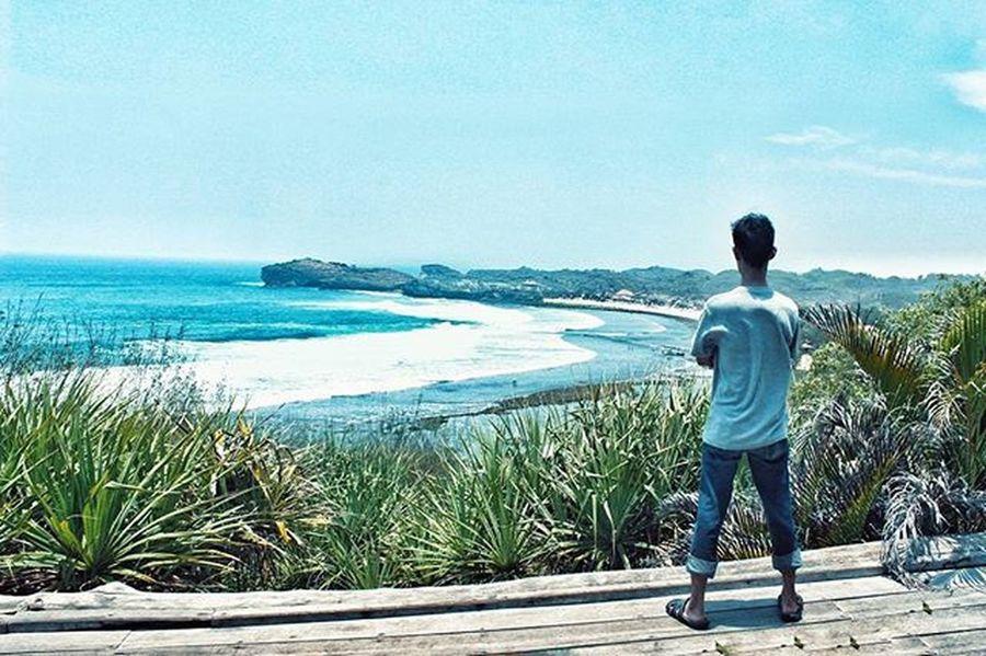 Skali skali lah di potoin 😀 Pantai Sundak Gunungkidul Jogja Pasirputih Camera Canon Canon_official