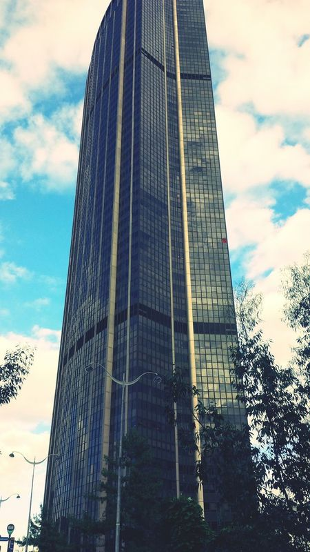 Architecture Tour Montparnasse Sky And Clouds