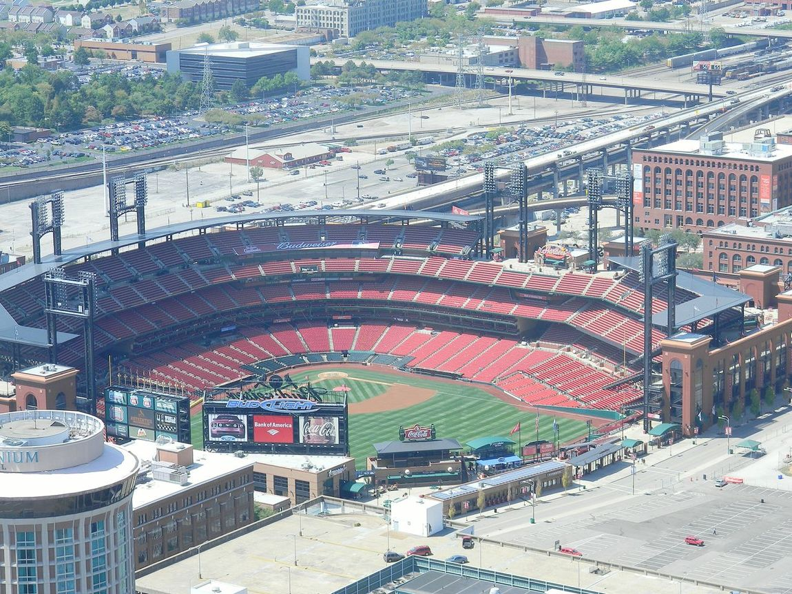 From The Rooftop St. Louis Cardinals St. Louis Arch Amazing View