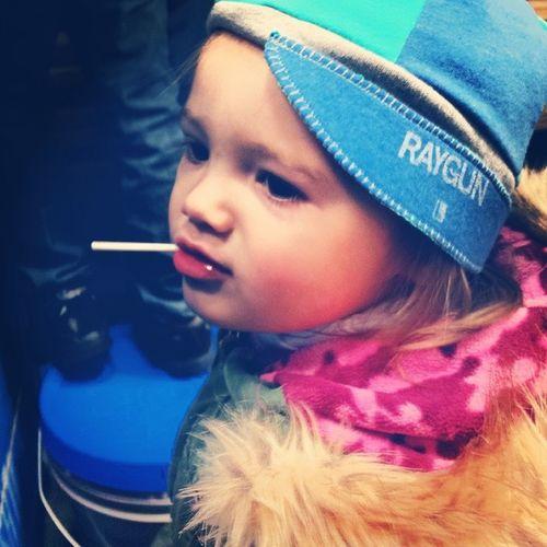 Lollipop gal Raygun Childrenofinstagram AwesomeSauce